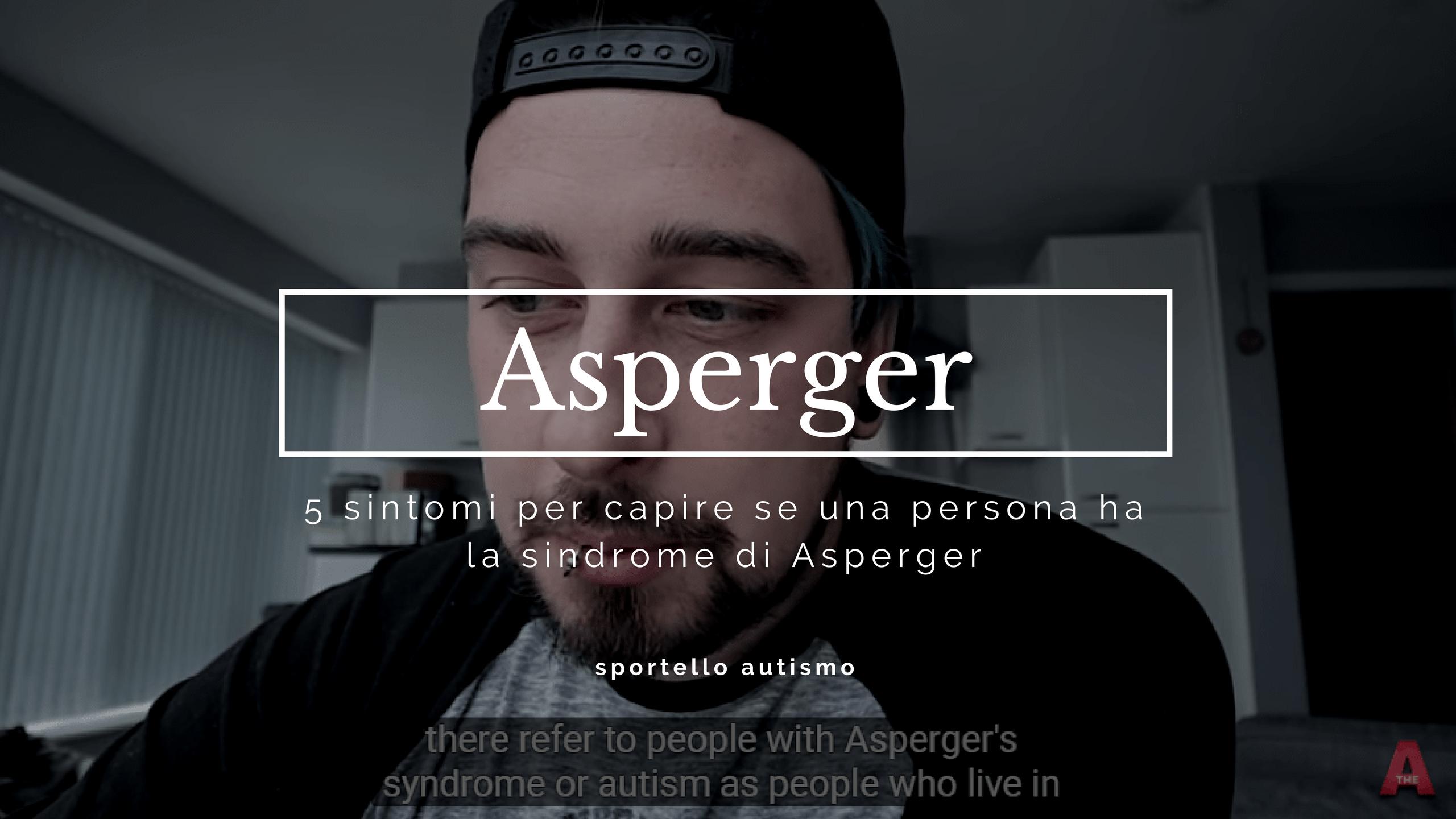 Sintomi dell'Asperger